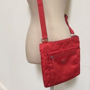 Coach Vermillion Orange CrossBody Bag